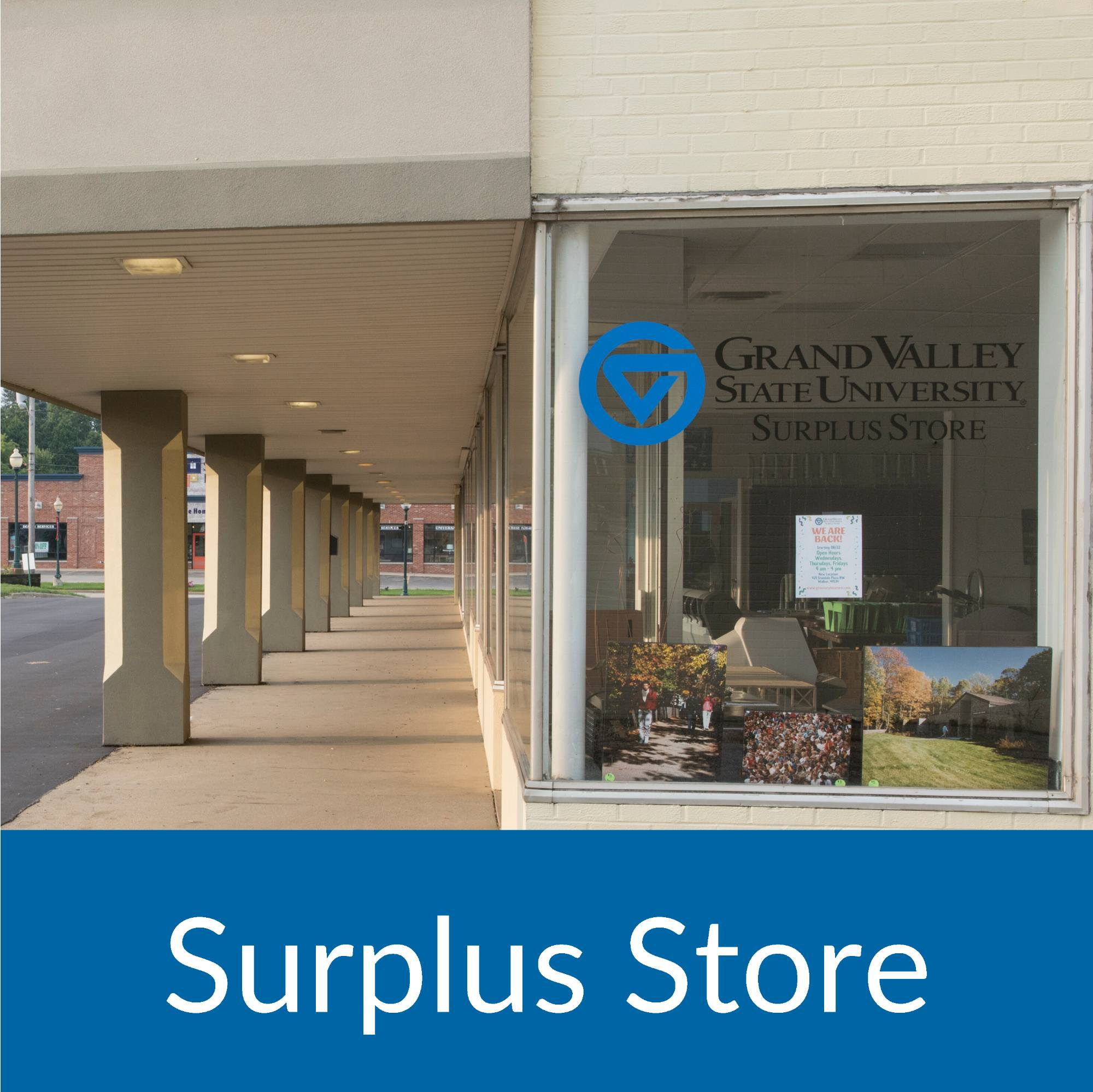 GVSU Surplus Store